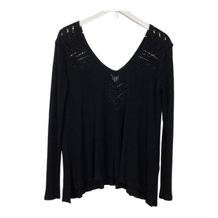 Primary Photo - BRAND: FREE PEOPLE STYLE: TOP LONG SLEEVE COLOR: BLACK SIZE: XS OTHER INFO: ASIS SKU: 208-20831-71290