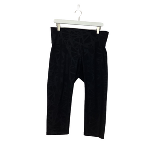 Primary Photo - BRAND: OLD NAVY STYLE: ATHLETIC CAPRIS COLOR: BLACK SIZE: XL SKU: 208-208162-1514