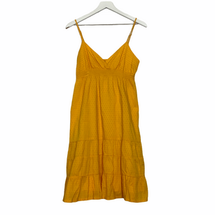 Primary Photo - BRAND:    VOLCOMSTYLE: DRESS SHORT SLEEVELESS COLOR: YELLOW SIZE: M SKU: 208-208113-31461