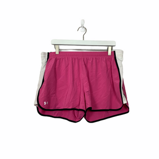 Primary Photo - BRAND: UNDER ARMOUR STYLE: ATHLETIC SHORTS COLOR: PINK SIZE: XL SKU: 208-208131-23597