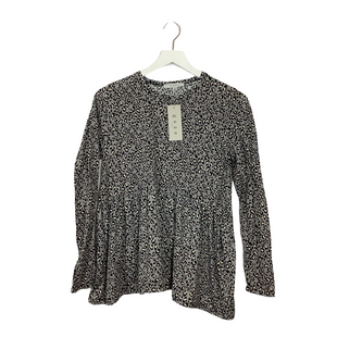 Primary Photo - BRAND: GAZE STYLE: TOP LONG SLEEVE COLOR: ANIMAL PRINT SIZE: S OTHER INFO: AS IS SKU: 208-20831-70967