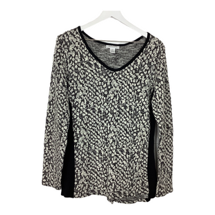 Primary Photo - BRAND: MOTHERHOOD STYLE: TOP LONG SLEEVE COLOR: BLACK WHITE SIZE: L SKU: 208-208162-1574