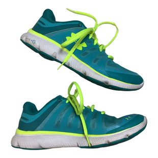 Primary Photo - BRAND: UNDER ARMOUR STYLE: SHOES ATHLETIC COLOR: AQUA SIZE: 8 SKU: 208-208131-23779