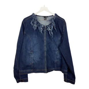Primary Photo - BRAND: ASHLEY STEWART STYLE: JACKET OUTDOOR COLOR: DENIM SIZE: 22 SKU: 208-208165-2086