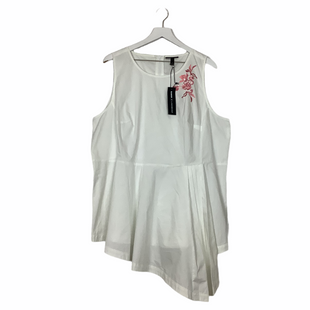 Primary Photo - BRAND: LANE BRYANT STYLE: TOP SLEEVELESS COLOR: WHITE SIZE: 3X SKU: 208-208114-36369AS IS