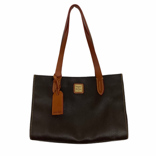 Primary Photo - BRAND: DOONEY AND BOURKE STYLE: HANDBAG DESIGNER COLOR: BROWN SIZE: SMALL OTHER INFO: AS IS-WEAR & INTERIOR MARKING SKU: 208-208131-20240
