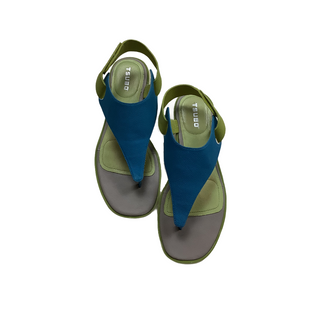 Primary Photo - BRAND:   TSUBO STYLE: SANDALS LOW COLOR: BLUE GREEN SIZE: 8 OTHER INFO: AS IS SKU: 208-208131-24357