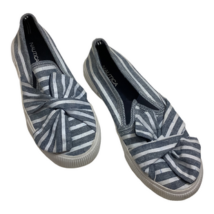 Primary Photo - BRAND: NAUTICA STYLE: SHOES FLATS COLOR: BLUE WHITE SIZE: 7.5 SKU: 208-208131-25008