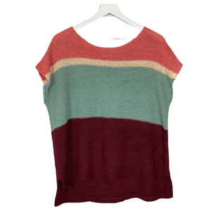 Primary Photo - BRAND: ANN TAYLOR LOFT O STYLE: SWEATER SHORT SLEEVE COLOR: MULTI SIZE: L SKU: 208-20831-71869