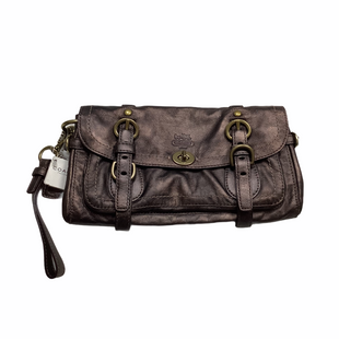 Primary Photo - BRAND: COACH STYLE: CLUTCH COLOR: BROWN SKU: 208-208158-551