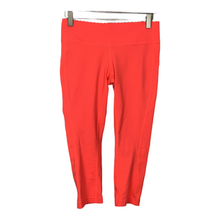Primary Photo - BRAND: NEW BALANCE STYLE: ATHLETIC CAPRIS COLOR: ORANGE SIZE: S SKU: 208-208162-1553