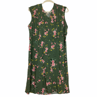 Primary Photo - BRAND: OLD NAVY STYLE: DRESS SHORT SLEEVELESS COLOR: GREEN SIZE: 3X SKU: 208-20831-69689