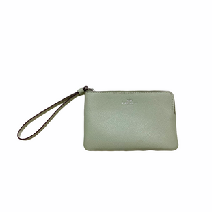 Primary Photo - BRAND: COACH STYLE: WRISTLET COLOR: MINT SKU: 208-208114-39687