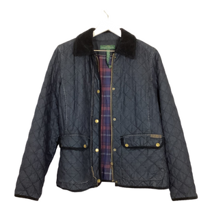 Primary Photo - BRAND: RALPH LAUREN STYLE: JACKET OUTDOOR COLOR: BLUE SIZE: L SKU: 208-208165-1838