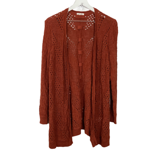 Primary Photo - BRAND: MAURICES STYLE: SWEATER CARDIGAN LIGHTWEIGHT COLOR: RUST SIZE: 1X SKU: 208-208165-693
