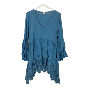 Primary Photo - BRAND: CUPIO STYLE: TOP LONG SLEEVE COLOR: BABY BLUE SIZE: L SKU: 208-208114-41850
