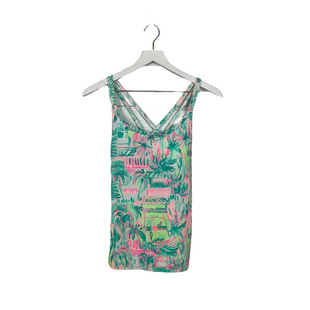 Primary Photo - BRAND: LILLY PULITZER STYLE: ATHLETIC TANK TOP COLOR: BLUE SIZE: XS SKU: 208-208142-14620
