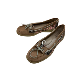 Primary Photo - BRAND: SPERRY STYLE: SHOES FLATS COLOR: BROWN SIZE: 8 OTHER INFO: AS IS - WEAR SKU: 208-208135-8911