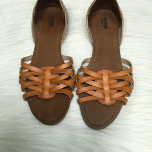 Primary Photo - BRAND: MOSSIMO STYLE: SANDALS FLAT COLOR: BROWN SIZE: 7.5 SKU: 208-208126-8569