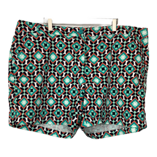 Primary Photo - BRAND: CROWN AND IVY STYLE: SHORTS COLOR: ORANGE BLUE SIZE: 20 SKU: 208-208162-2024