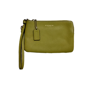 Primary Photo - BRAND: COACH STYLE: WRISTLET COLOR: YELLOW SIZE: S OTHER INFO: AS IS-WEAR SKU: 208-208131-24668