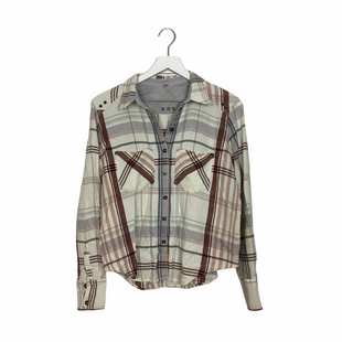 Primary Photo - BRAND: FREE PEOPLE STYLE: TOP LONG SLEEVE COLOR: PLAID OTHER INFO: AS IS-NO SIZE SKU: 208-208131-22767