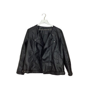 Primary Photo - BRAND: SIGNATURE STUDIO STYLE: JACKET OUTDOOR COLOR: BLACK SIZE: L SKU: 208-208142-10353AS IS