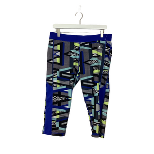 Primary Photo - BRAND: ADIDAS STYLE: ATHLETIC CAPRIS COLOR: BLUE SIZE: XL OTHER INFO: AS IS SKU: 208-208113-32732