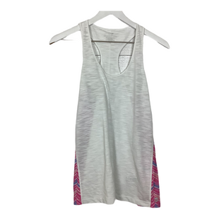 Primary Photo - BRAND: VINEYARD VINES STYLE: ATHLETIC TANK TOP COLOR: WHITE PINK SIZE: XS SKU: 208-208131-24171