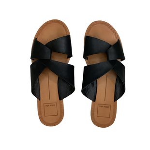 Primary Photo - BRAND: DOLCE VITA STYLE: SANDALS FLAT COLOR: BLACK SIZE: 6.5 SKU: 208-208114-39192