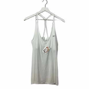 Primary Photo - BRAND: REEBOK STYLE: ATHLETIC TANK TOP COLOR: WHITE SIZE: XL SKU: 208-208131-25638