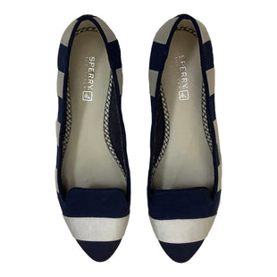 Primary Photo - BRAND: SPERRY STYLE: SHOES FLATS COLOR: BLUE WHITE SIZE: 6.5 SKU: 208-208162-1214