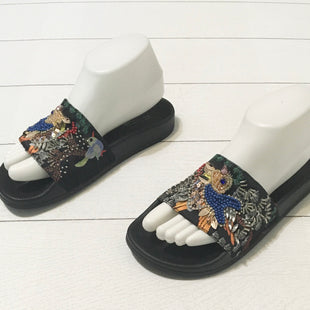 Primary Photo - BRAND: STEVE MADDENSTYLE: SANDALS FLATCOLOR: BLACKSIZE: 7OTHER INFO: AS ISSKU: 208-208113-19681