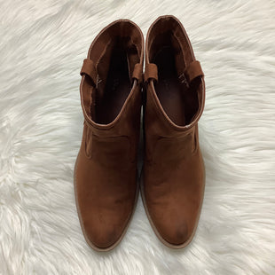 Primary Photo - BRAND: QUPID STYLE: BOOTS ANKLE COLOR: BROWN SIZE: 9 OTHER INFO: AS IS SKU: 208-20851-32471