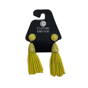 Primary Photo - BRAND:    CLOTHES MENTOR STYLE: EARRINGS COLOR: YELLOW OTHER INFO: NAME BRAND - SKU: 208-208131-25787
