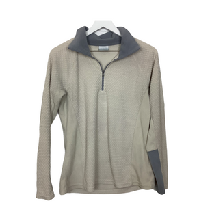 Primary Photo - BRAND: COLUMBIA STYLE: FLEECE COLOR: TAN SIZE: M OTHER INFO: AS IS SKU: 208-208114-41775
