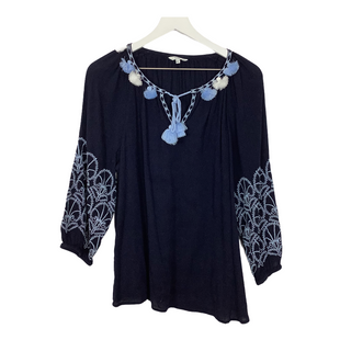Primary Photo - BRAND: CROWN AND IVY STYLE: TOP LONG SLEEVE COLOR: NAVY SIZE: L SKU: 208-208162-475