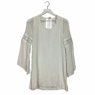 Primary Photo - BRAND: VESTIQUE STYLE: TOP LONG SLEEVE COLOR: WHITE SIZE: S SKU: 208-208131-22768AS IS