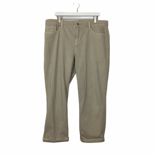 Primary Photo - BRAND: CHICOS STYLE: PANTS COLOR: TAN SIZE: 16 SKU: 208-208114-41898