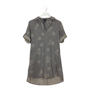Primary Photo - BRAND: CHELSEA AND THEODORE STYLE: DRESS SHORT LONG SLEEVE COLOR: GREY SIZE: S SKU: 208-20831-70118HAS POCKETS!