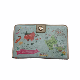 Primary Photo - BRAND: SPARTINA STYLE: WALLET COLOR: BLUE SIZE: LARGE OTHER INFO: AS IS - WEAR SKU: 208-208165-222