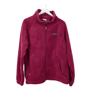 Primary Photo - BRAND: COLUMBIA STYLE: JACKET OUTDOOR COLOR: MAGENTA SIZE: 2X SKU: 208-208131-25928