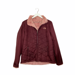 Primary Photo - BRAND: NORTHFACE STYLE: JACKET OUTDOOR COLOR: BURGUNDY SIZE: L OTHER INFO: AS IS- SPOTTING SKU: 208-208131-22549