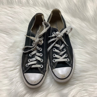 Primary Photo - BRAND: CONVERSE STYLE: SHOES ATHLETIC COLOR: BLACK WHITE SIZE: 7.5 OTHER INFO: AS IS-WEAR SKU: 208-208131-20753