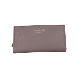 Primary Photo - BRAND: KATE SPADE STYLE: WALLET COLOR: MAUVE SIZE: SMALL OTHER INFO: AS IS SKU: 208-208131-24628