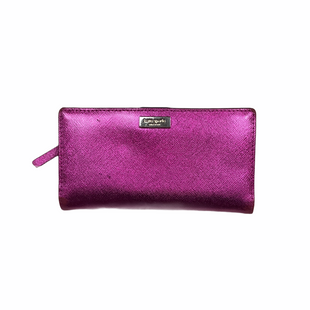 Primary Photo - BRAND: KATE SPADE STYLE: WALLET COLOR: PINK SIZE: MEDIUM OTHER INFO: AS IS WEAR SKU: 208-20831-70393