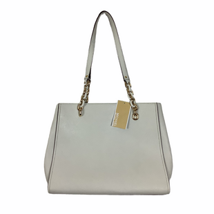 Primary Photo - BRAND: MICHAEL KORS STYLE: HANDBAG DESIGNER COLOR: WHITE SIZE: LARGE OTHER INFO: AS IS - WEAR SKU: 208-208142-9346