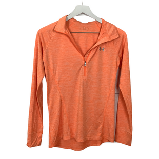 Primary Photo - BRAND: UNDER ARMOUR STYLE: ATHLETIC TOP COLOR: ORANGE SIZE: XS SKU: 208-208162-1913