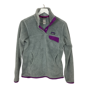 Primary Photo - BRAND: PATAGONIA STYLE: FLEECE COLOR: GREY SIZE: S SKU: 208-208162-1542