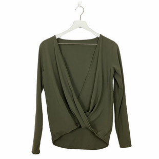 Primary Photo - BRAND: LULULEMON STYLE: ATHLETIC TOP COLOR: GREEN SIZE: 6 SKU: 208-208162-1894